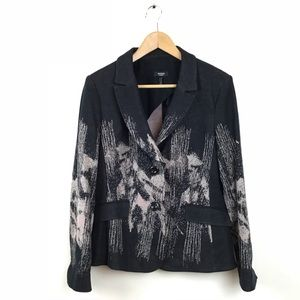 Basler Selection Jacket Knit Blazer Printed 42